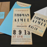 wedding suite invitations