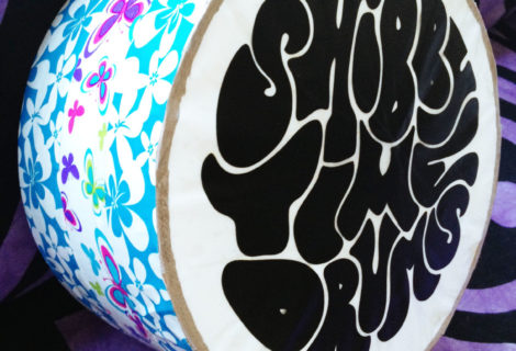 NEW PROJECT: Shibby Time Drums Logo