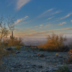 south mountain sunset