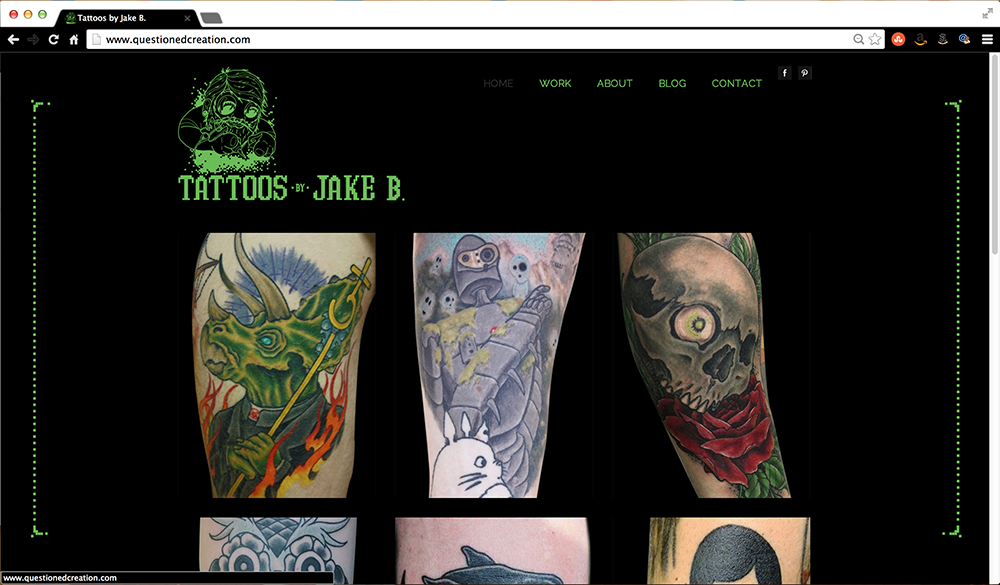NEW PROJECT: Jake B Website