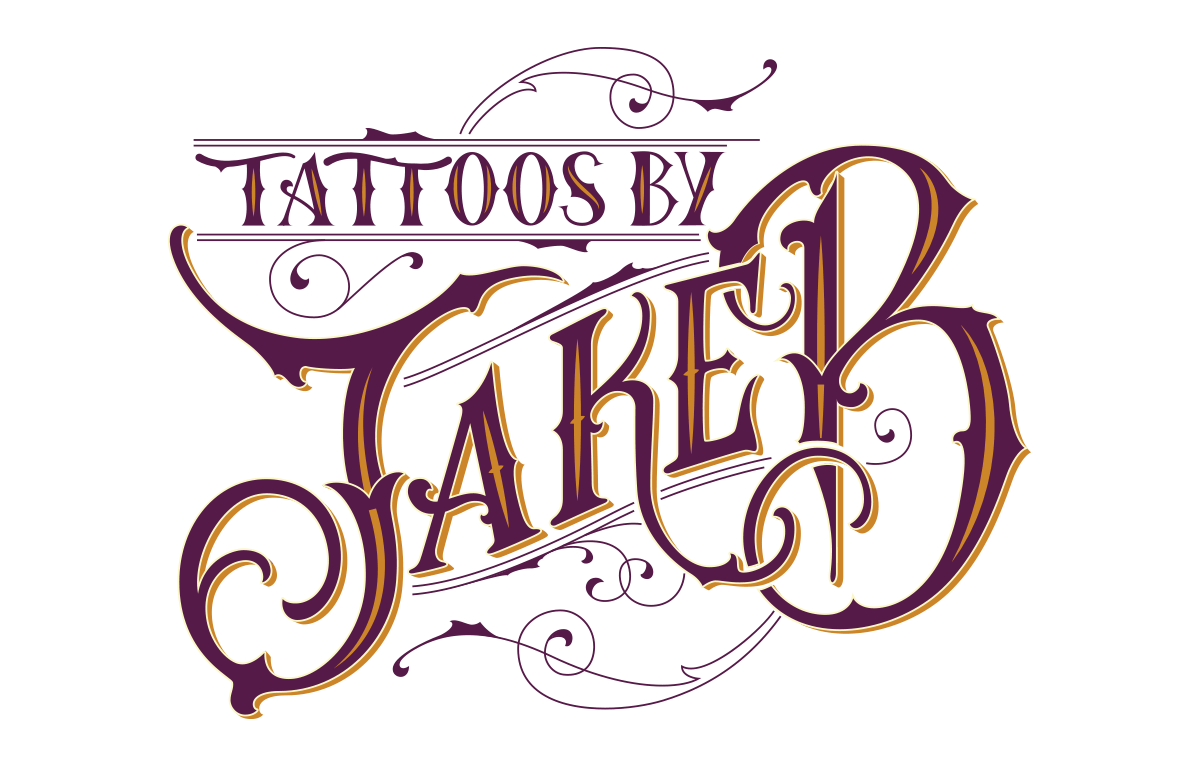 Jake B Tattoo artist branding