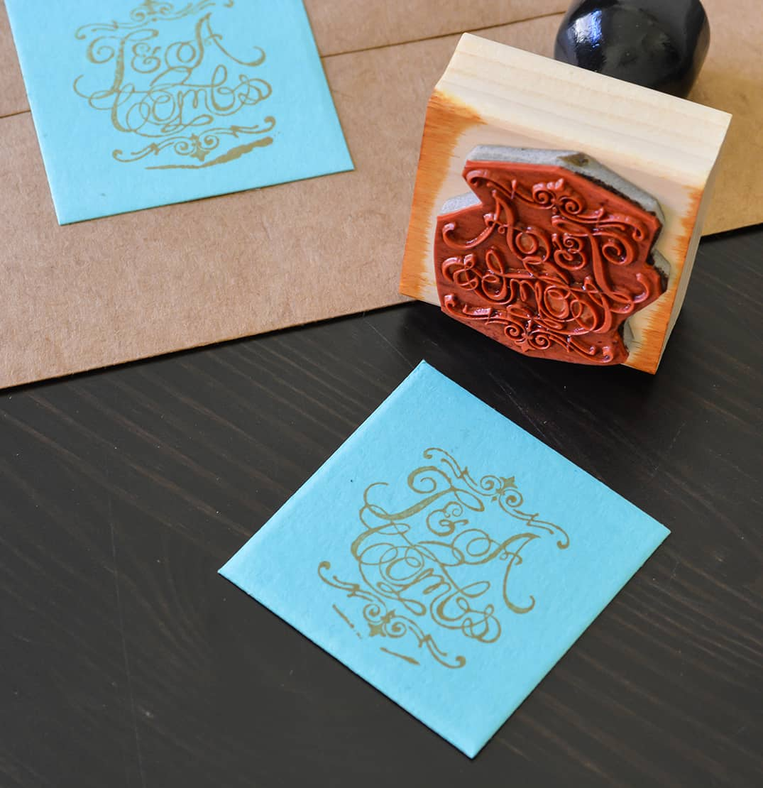 combs wedding suite design wedding invitation custom stamp
